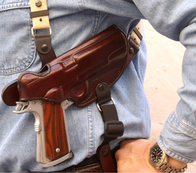 how to wear smart carry holster
